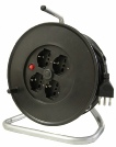 Cable reel for household MINOR PLURISTANDARD